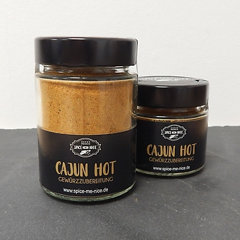 Cajun Hot Gewürzzubereitung 65 g Glas