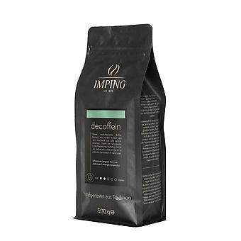Imping Kaffeebohnen DeCoffein