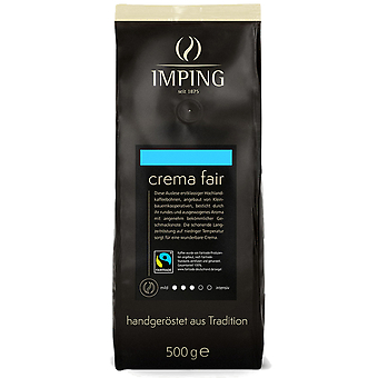 Imping Kaffeebohnen Crema Fair Trade