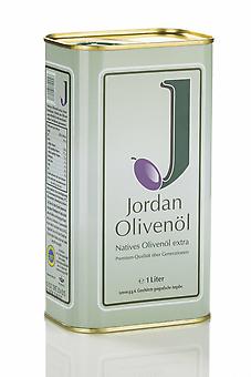 Jordan Olivenöl nativ extra im Kanister