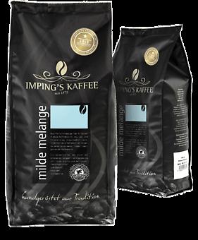 Imping Kaffee milde Melange gemahlen 500g