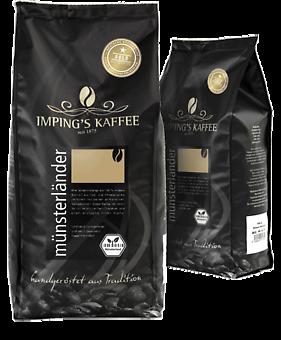 Imping Kaffee Münsterländer gemahlen 500g