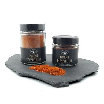 Piment d'Espelette 80 g Glas